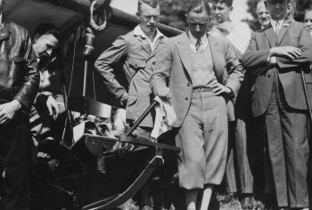 Erster Segelflug in Bensheim 1931