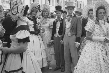 Bergsträßer Winzerfest 1958 - Nachlass Joseph Stoll