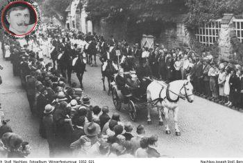 Bergsträßer Winzerfestumzug 1932